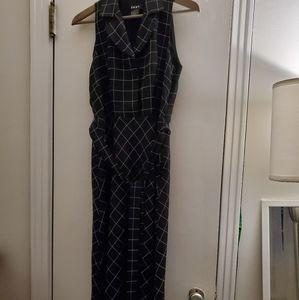DKNY size 6 checkered dress